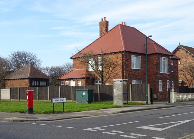 Houses on Aske Road, Redcar
