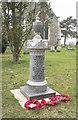 TL9978 : St Mary, Market Weston - War Memorial WWI by John Salmon