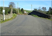 J0633 : Carrickrovaddy Road approaching the Pointed Bridge at Jerrettspass by Eric Jones