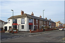 NZ6124 : Terraced housing on Lord Street, Redcar by JThomas