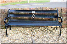 NS5036 : Memorial Bench, Galston by Billy McCrorie