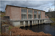 NH5797 : Outlet from Shin Hydro-electric Power Station, Sutherland by Andrew Tryon