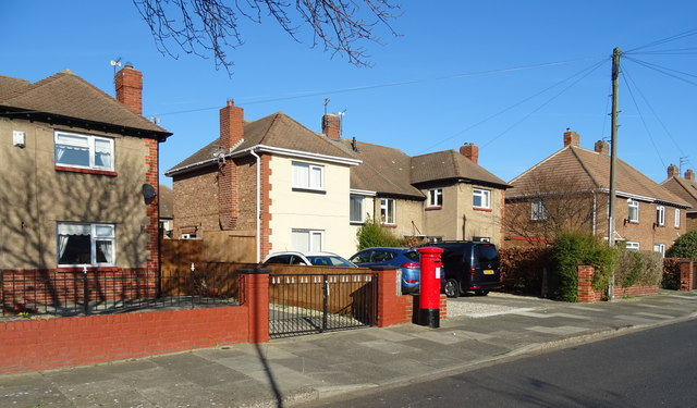 Houses on Coniston Avenue, Redcar