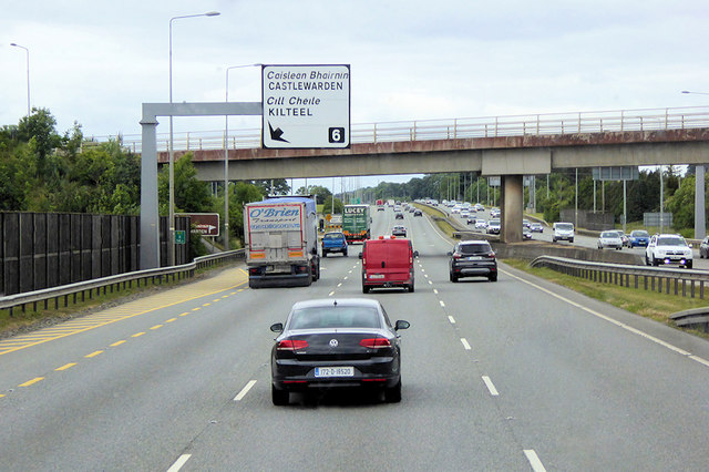 N7/E20, Naas Road, at Junction 6