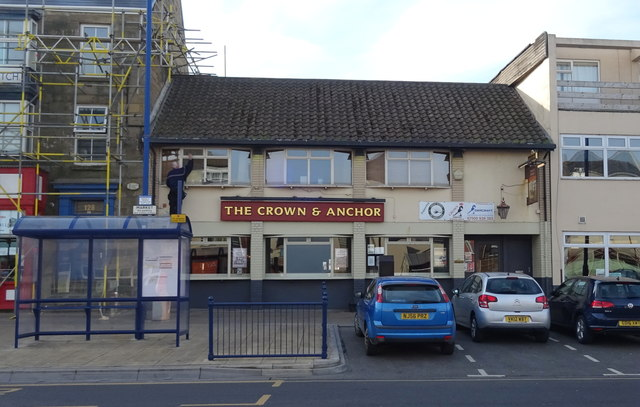 The Crown & Anchor public house, Redcar