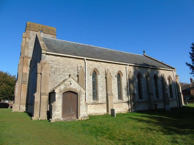 Newbold on Stour Church
