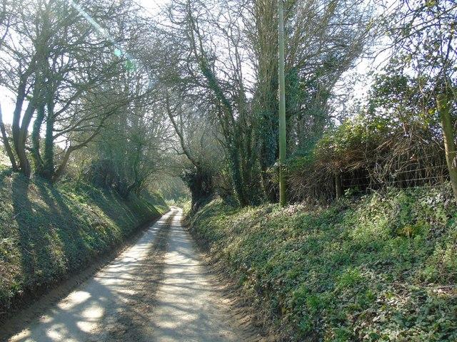 Road into Charingworth