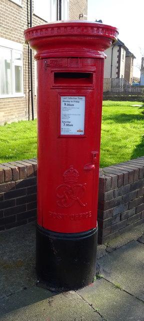 George VI postbox on Farndale Square, Redcar