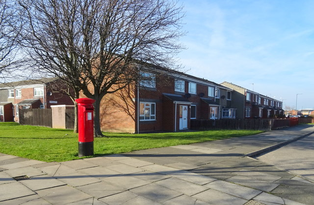 Houses on West Dyke Road, Redcar