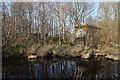 NJ2945 : Railway Bridge Abutment by Anne Burgess