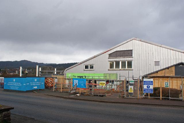 Broadford Co-op refurbishment