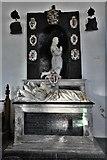 TM3973 : Bramfield, St. Andrew's Church: Arthur and Elizabeth Coke memorial by Nicholas Stone 1 by Michael Garlick