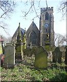 SE0726 : Christ Church, Pellon, Halifax by Humphrey Bolton