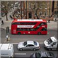 TQ2982 : Bus, London by Rossographer