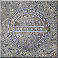 TQ2981 : Coal Hole Cover, London by Rossographer