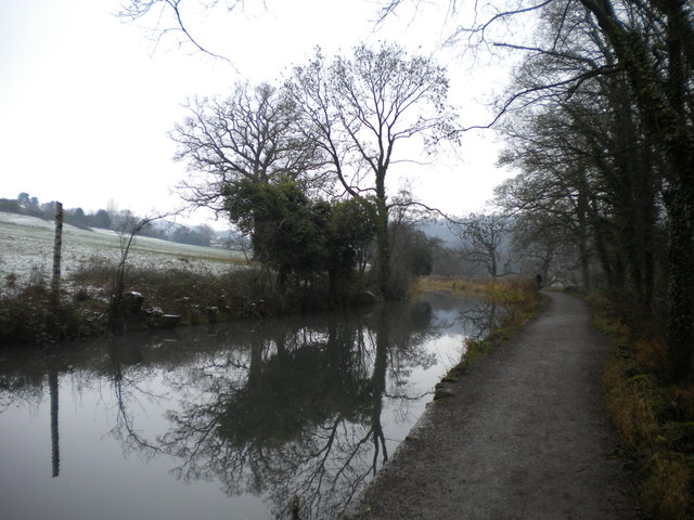 Cromford Canal south east of Cromford