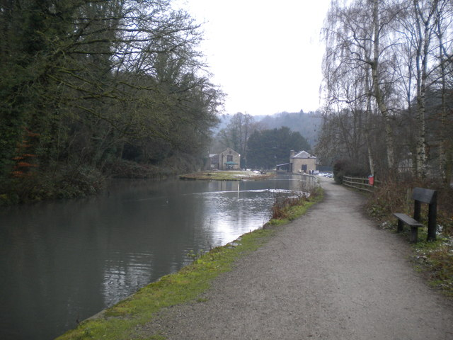 Cromford Canal approaching Cromford Wharf