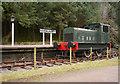 NN3098 : Ruston shunter, Invergarry Station by Craig Wallace