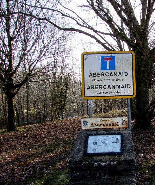 Abercanaid - Please drive carefully