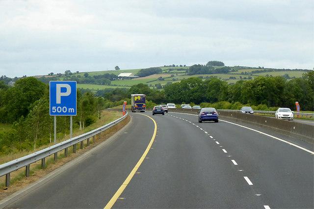 M9 Motorway, north of Crookstown