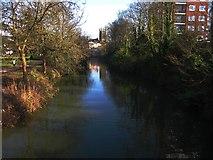 SP3165 : River Leam, Leamington Spa by Phil