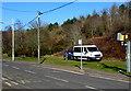 SO0602 : Yellow speed camera in Troedyrhiw by Jaggery
