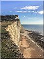 TV4997 : Cliffs, Seaford Head by Ian Capper