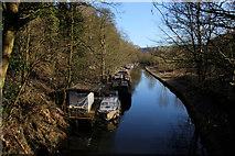 SD9926 : Rochdale Canal East of Hebden Bridge by Chris Heaton