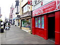 H4572 : Snips, High Street, Omagh by Kenneth  Allen