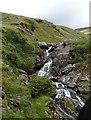 V7954 : Waterfall along R574 by Matthew Chadwick