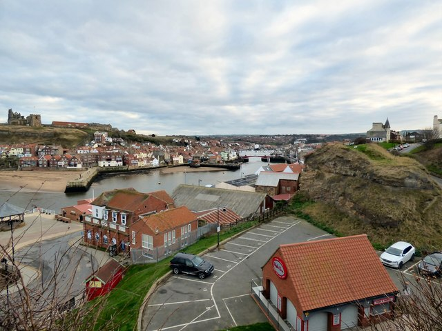 A view of Whitby Town
