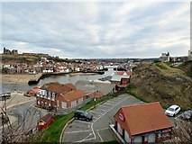 NZ8911 : A view of Whitby Town by Gerald England