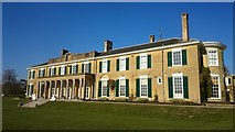 TQ1352 : Polesden Lacey south facade by Mark Percy