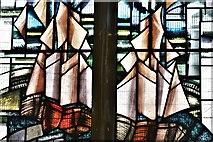 TM5286 : Kessingland, St. Edmund's Church: South window by Nicola Kantorowicz dedicated 22/8/2007  2 by Michael Garlick