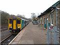 SO1107 : Train at Rhymney station by Gareth James