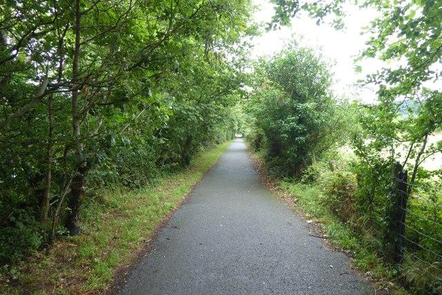 Path leading into Porthmadog