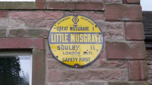 Old Circular, village name on black band, no MU symbol or name, 1923