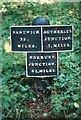 SJ8611 : Canal Milemarker by Milestone Society