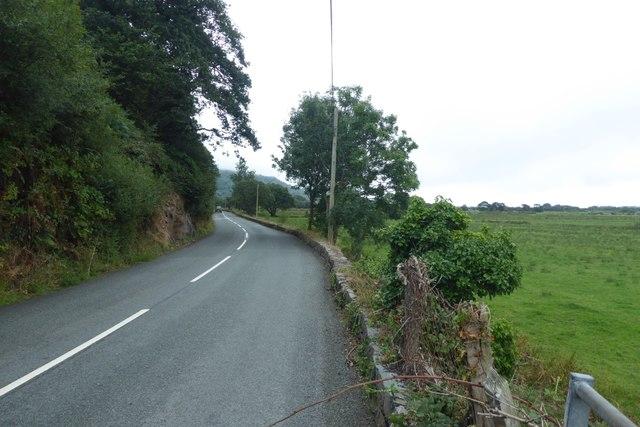 B4573 towards Harlech