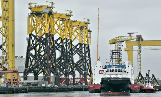 """The """"Eraclea"""" and """"Boabarge 35"""", Belfast harbour - March 2019(3)"""
