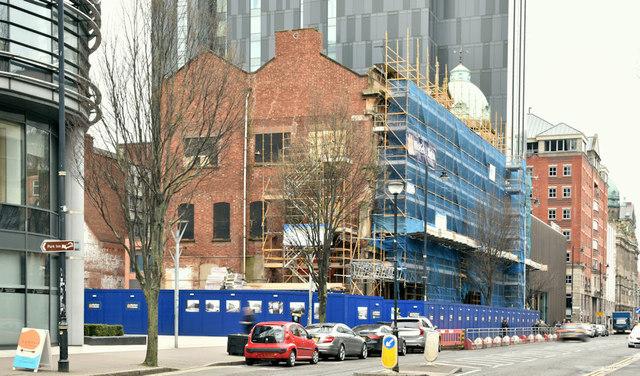 Bedford Square (Ewarts site), Belfast (March 2019)