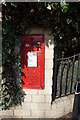 SE3913 : Disused Georgian Postbox by Ian S