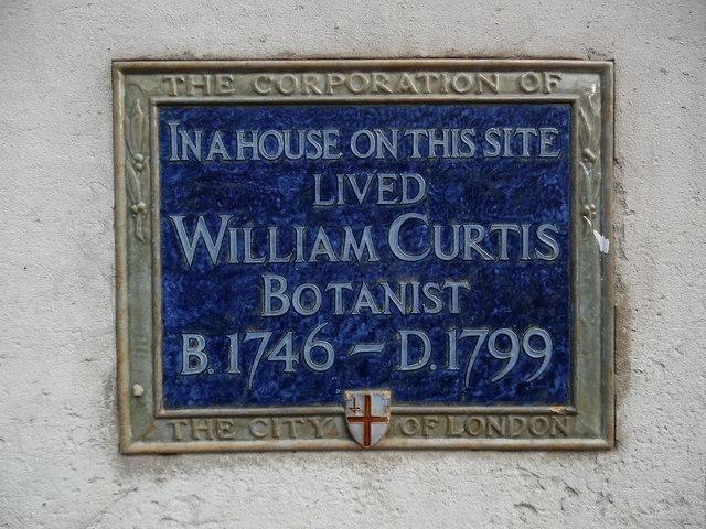 Blue Plaque in Gracechurch Street, London EC3