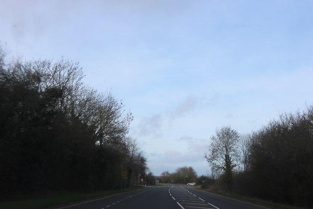 Banbury Road near North End