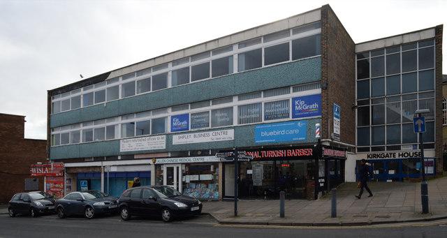Shops on Kirkgate
