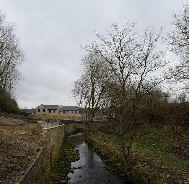 Bradford Beck and new housing