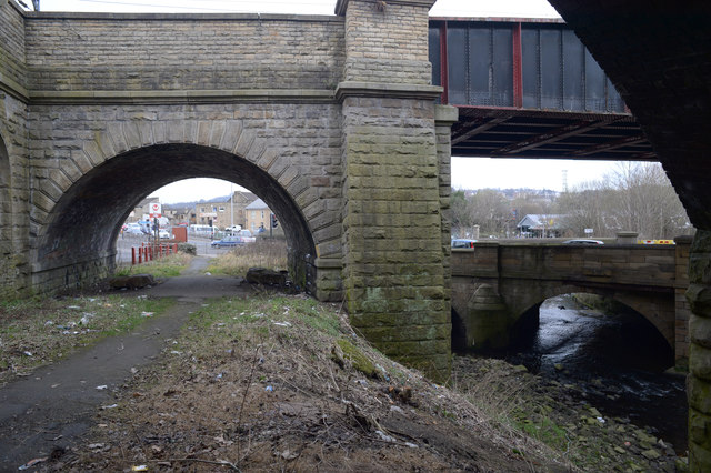Bridges and Beck in Shipley
