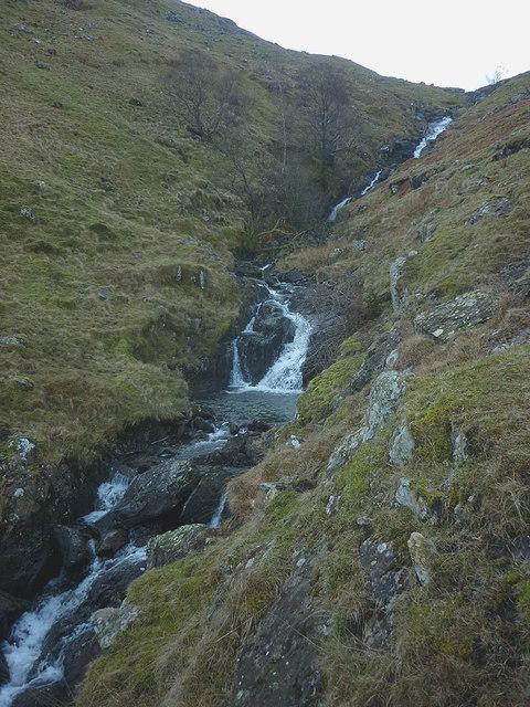 Waterfalls on Caiston Beck