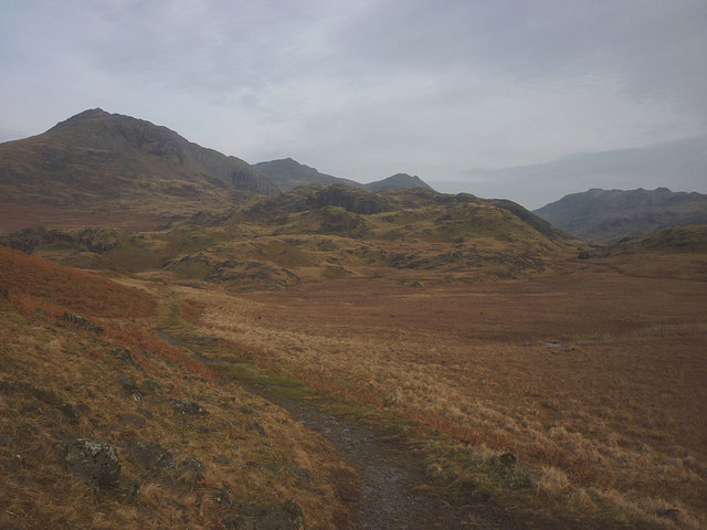 The path to Upper Eskdale