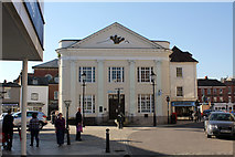 SU3521 : Barclays Bank, The Old Corn Exchange, 20 Corn Market, Romsey by Jo Turner